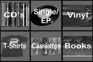 Jezus factory records online shop. Vinyl, CD, Cassettes and T-shirts.