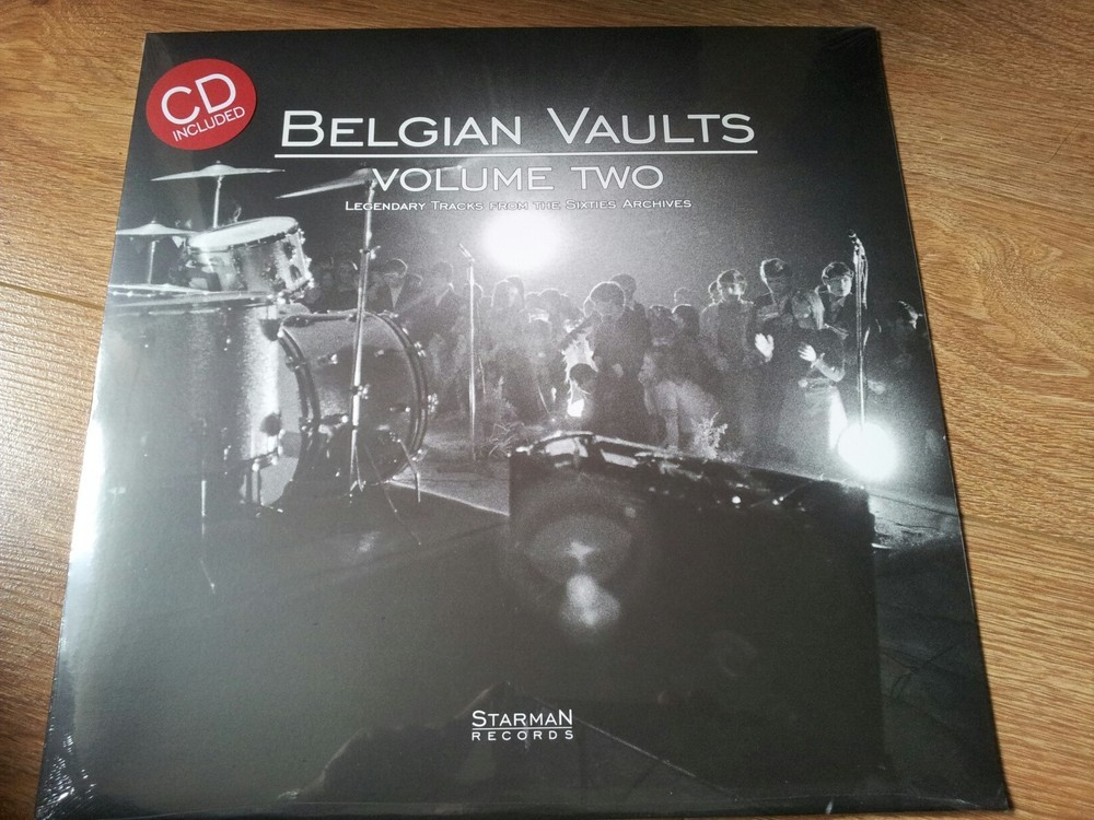 Belgian Vaults Vol. 2 - Legendary Tracks From The 60's Archives