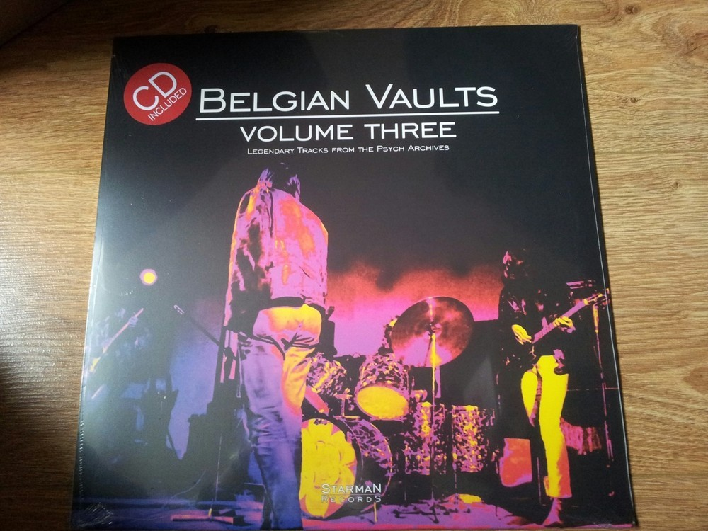 Belgian Vaults Vol 3 - Tracks From The Psych Archives