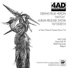 Grand Blue Heron – Belgian Release, Launch Show and Radio Interview