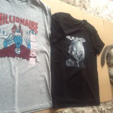 Millionaire T Shirts, iH8 Camera, Faye Dunaways Nu Nog Even Niet Back In Stocks