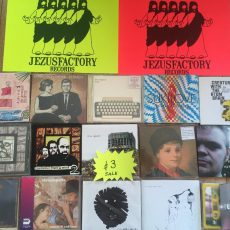 Jezus Factory Bank Holiday CD Sale!