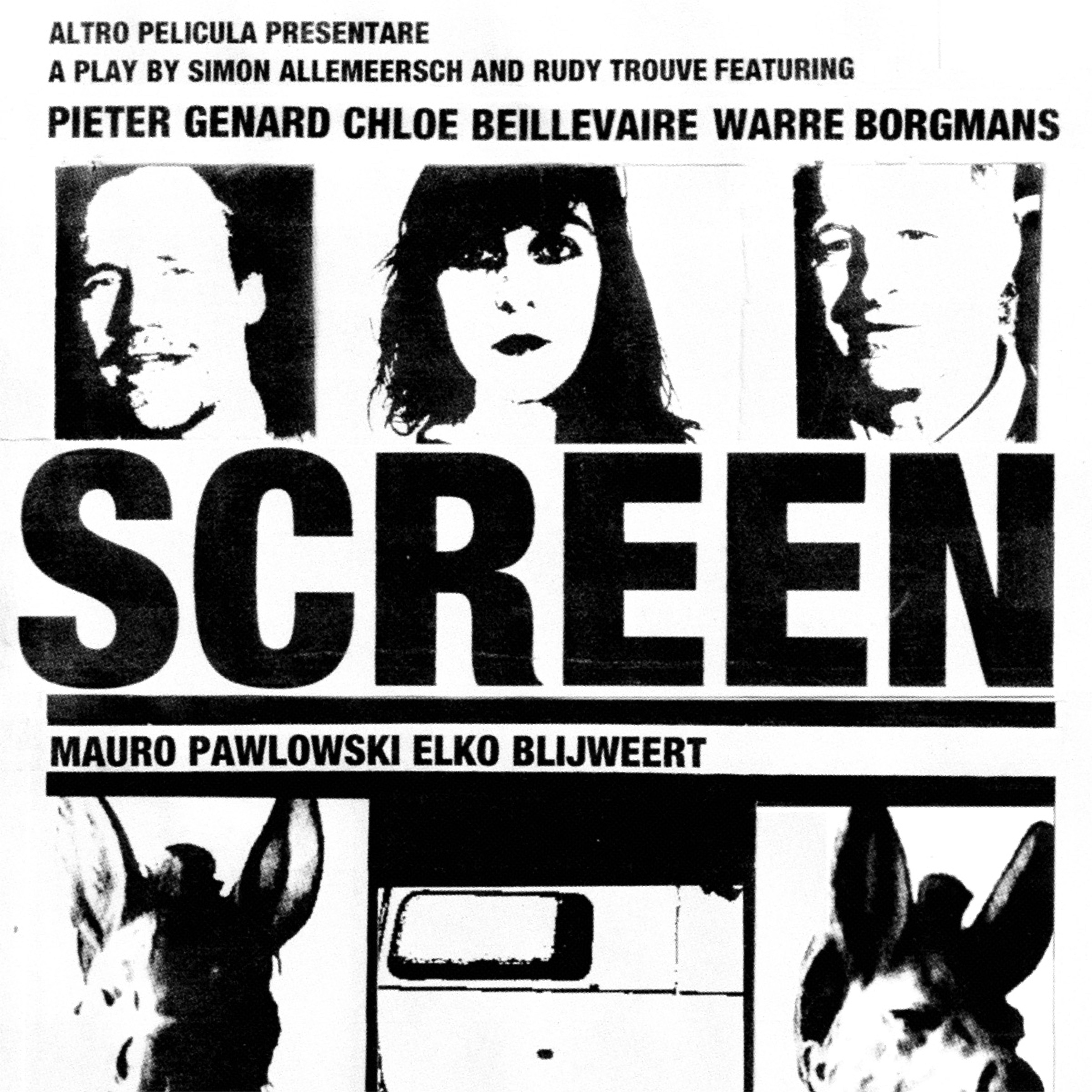 SCREEN​/​Crossroads Soundtrack by Rudy Trouve, Elko Blijweert, Mauro Pawlowski and Gunter Nagels